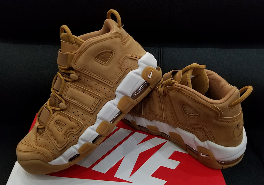0c21a03bef Nike Air More Uptempo Wheat Flax Release Date | SneakerFiles
