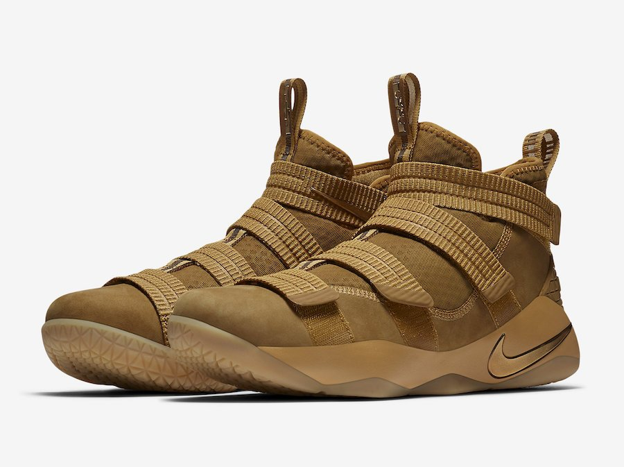 Wheat Nike LeBron Soldier 11 897647-700