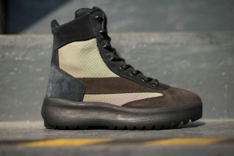 Yeezy Season 5 Oil Night Light Military Boots
