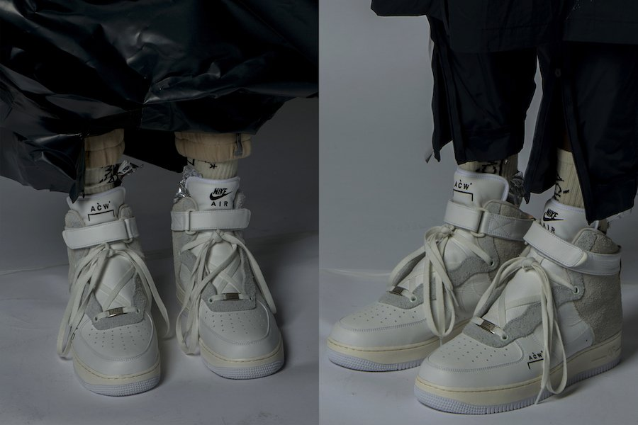 A Cold Wall Nike Air Force 1 High Release Date