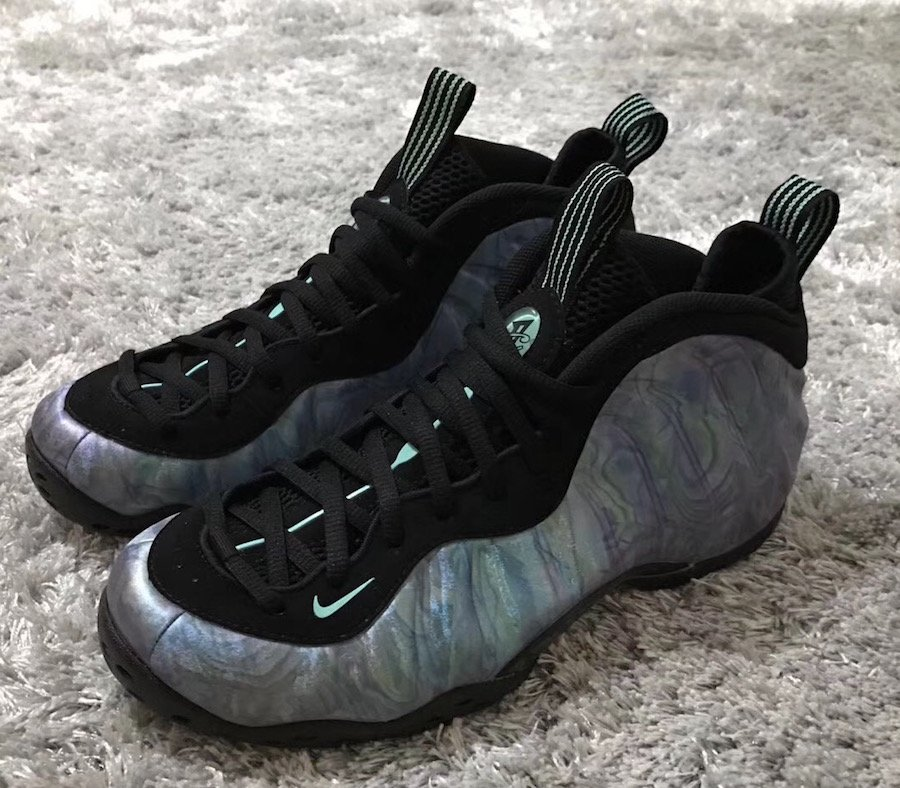 Abalone Nike Air Foamposite One