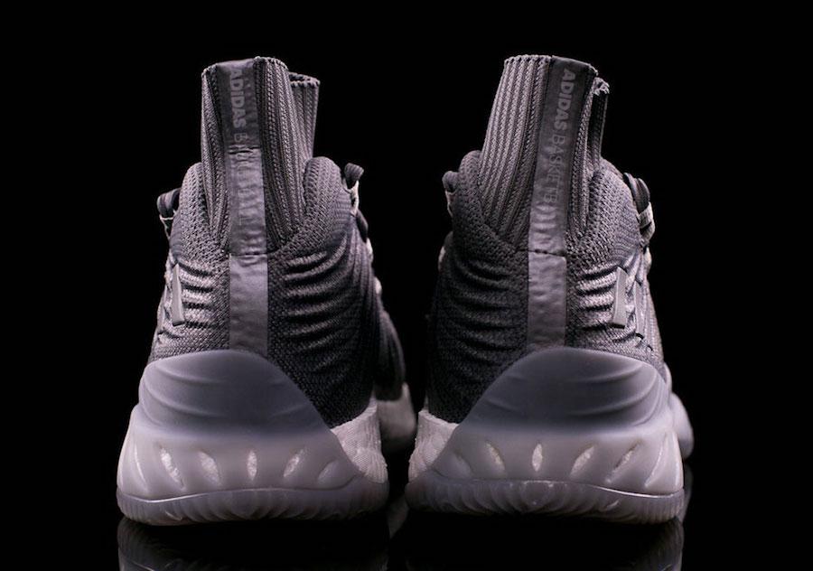 adidas Crazy Explosive 2017 Primeknit Triple Grey