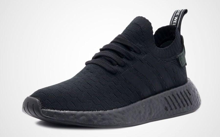 "Adidas NMD R2 Primeknit ""Triple Black"" Online"