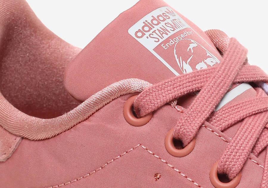 adidas Stan Smith Satin Raw Pink