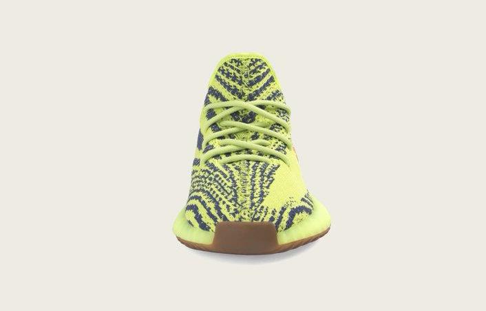 adidas Yeezy Boost 350 V2 Semi Frozen Yellow B37572 Release