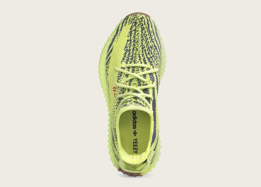 81cb7c74b2c52 adidas Yeezy Boost 350 V2 Semi Frozen Yellow B37572 Release Date ...