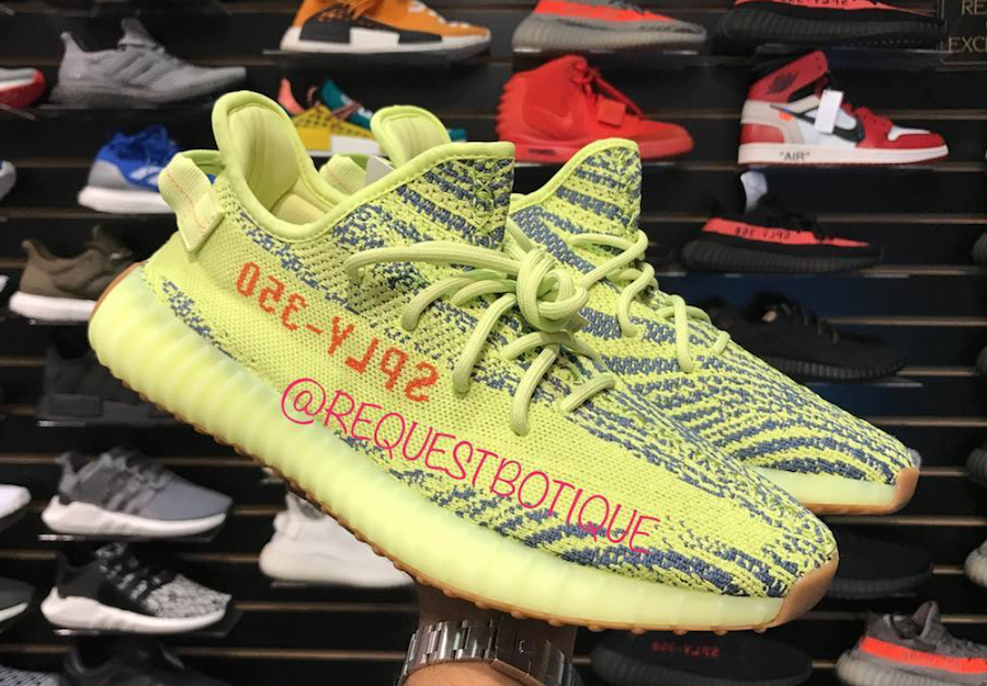 adidas Yeezy Boost 350 V2 Yellow Gum