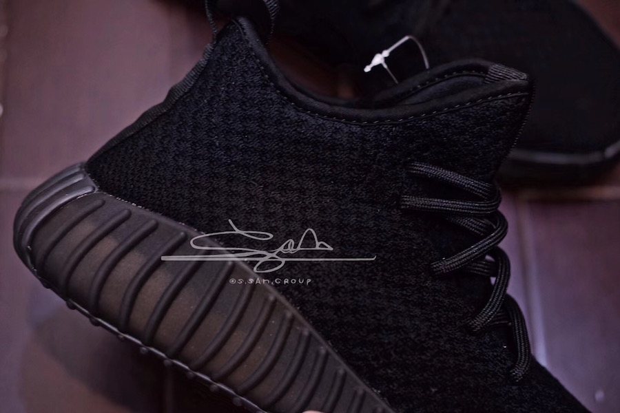 adidas Yeezy Boost 650 Triple Black