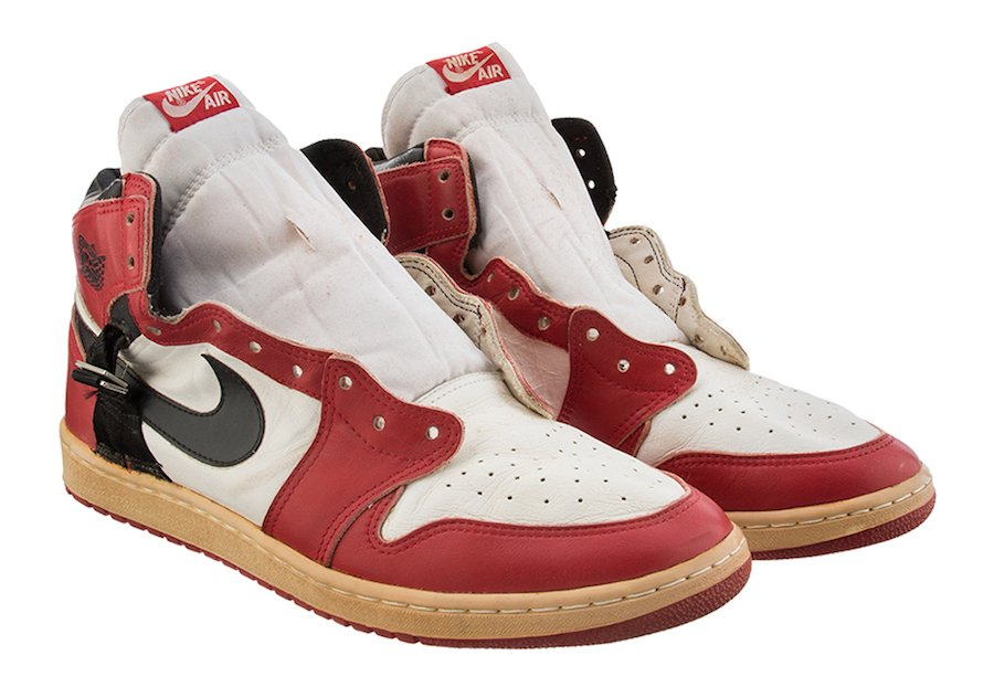Rare Air Jordan 1 Worn by Michael Jordan is Up for Auction