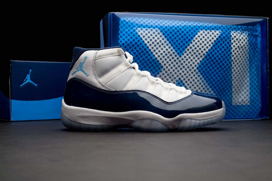 Air Jordan 11 32 Low Win Like 82 North Carolina Blue Pack