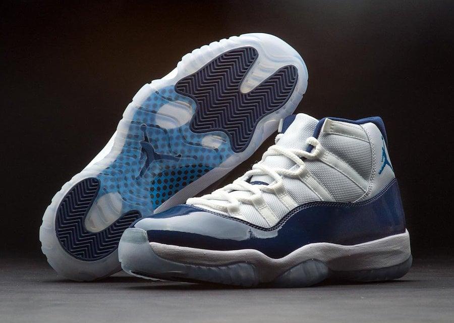 a8983848686 ... 378037-123 220. Air Jordan 11 Win Like 82 North Carolina Blue ...