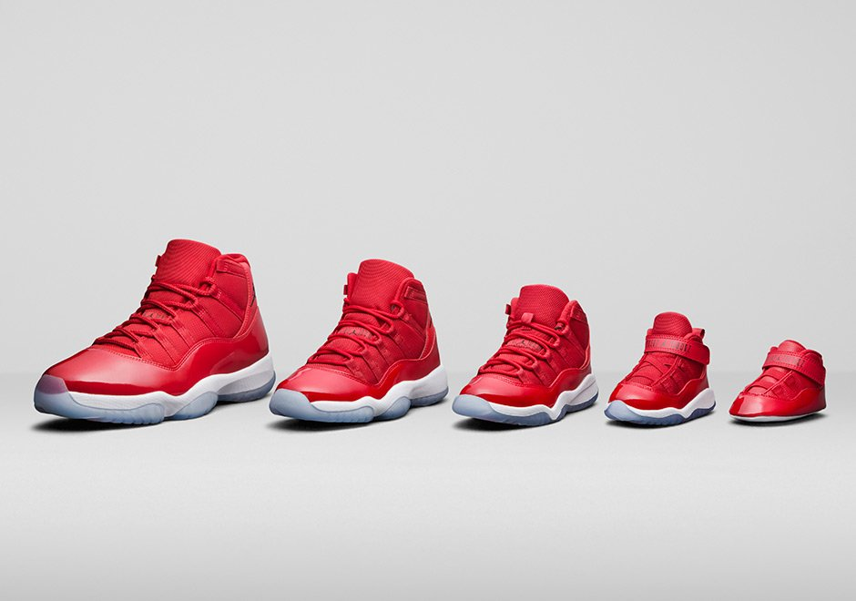 Air Jordan 11 Win Like 96 Chicago Family