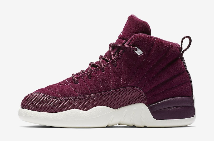 Air Jordan 12 Bordeaux Preschool 151186-617