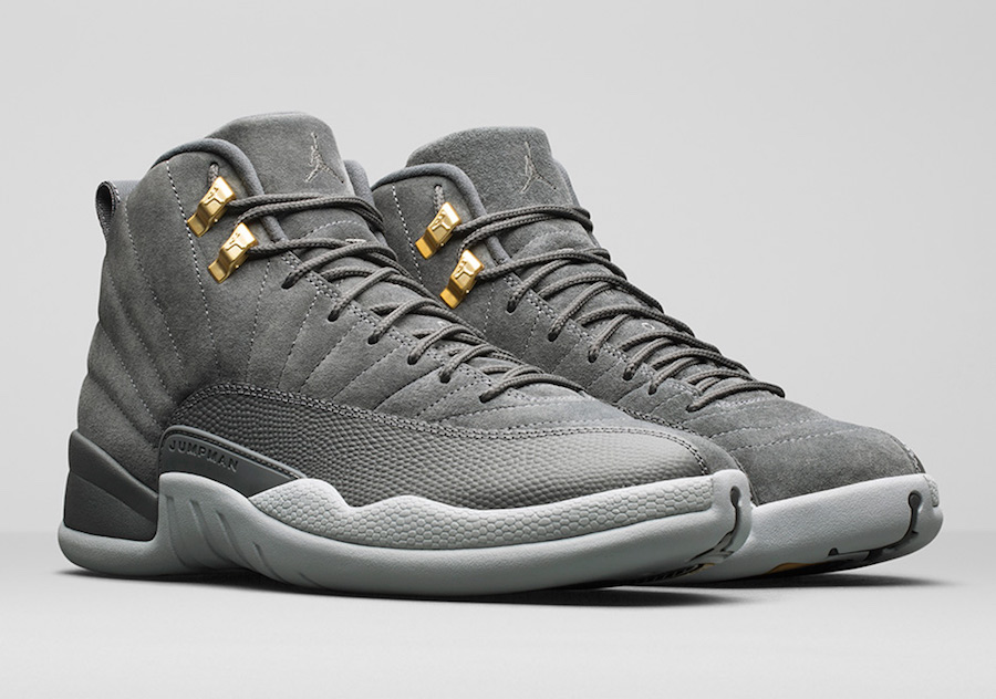 Air Jordan 12 Dark Grey 130690-005
