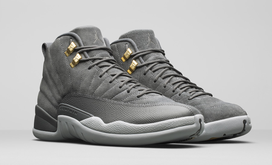 Air Jordan 12 Dark Grey November 2017