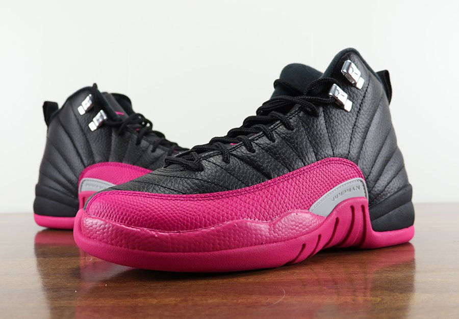 pick up b40c4 9edcf Air Jordan 12 GS Deadly Pink Review