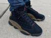 Air Jordan 13 Olive On Feet