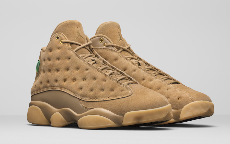 Air Jordan 13 Wheat November 2017