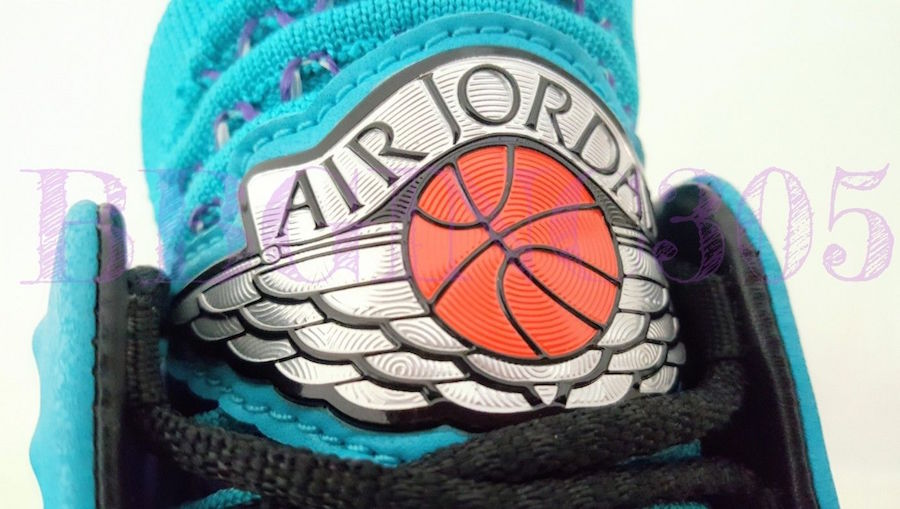 Air Jordan 32 Charlotte Hornets PE