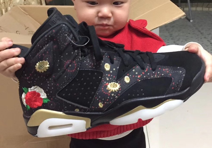 brand new 39599 f6e23 Air Jordan 6 CNY Chinese New Year Release Date | SneakerFiles
