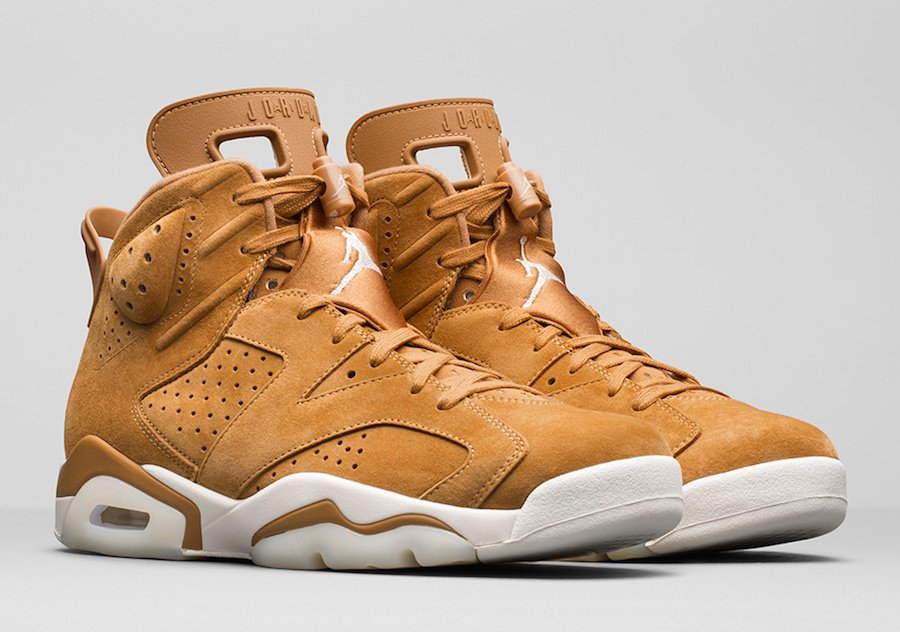 Air Jordan 6 Wheat 384664-705