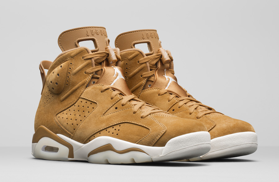 Air Jordan 6 Wheat November 2017