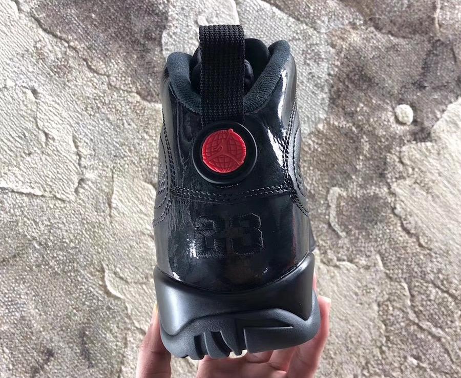 Air Jordan 9 Retro Bred Black Anthracite University Red 302370-014