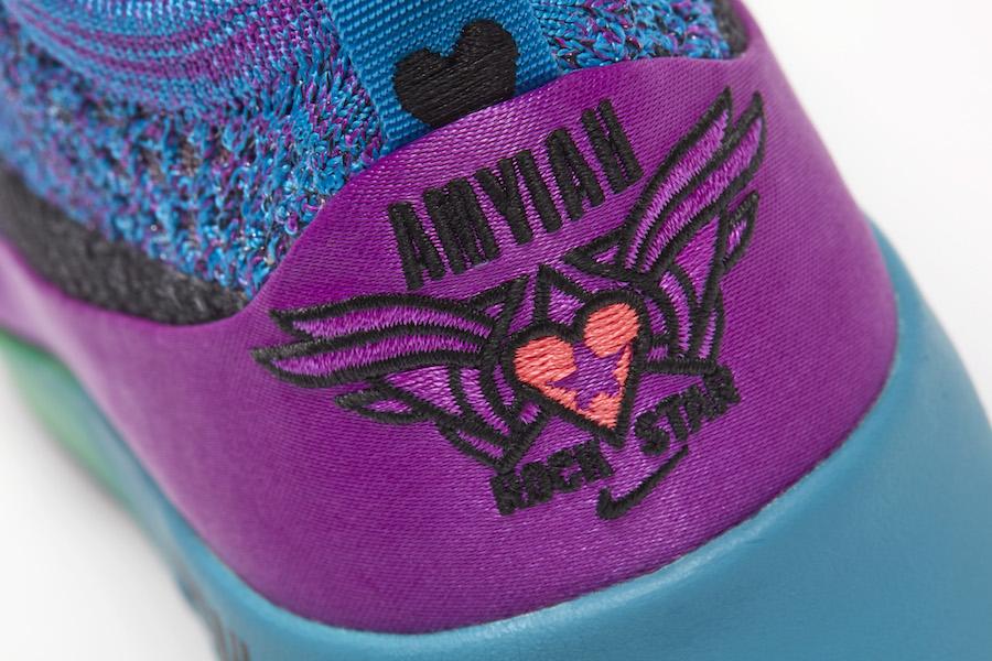 fd3f8d05346 Amyiah Robinson Nike Air Max Thea Ultra Flyknit Doernbecher