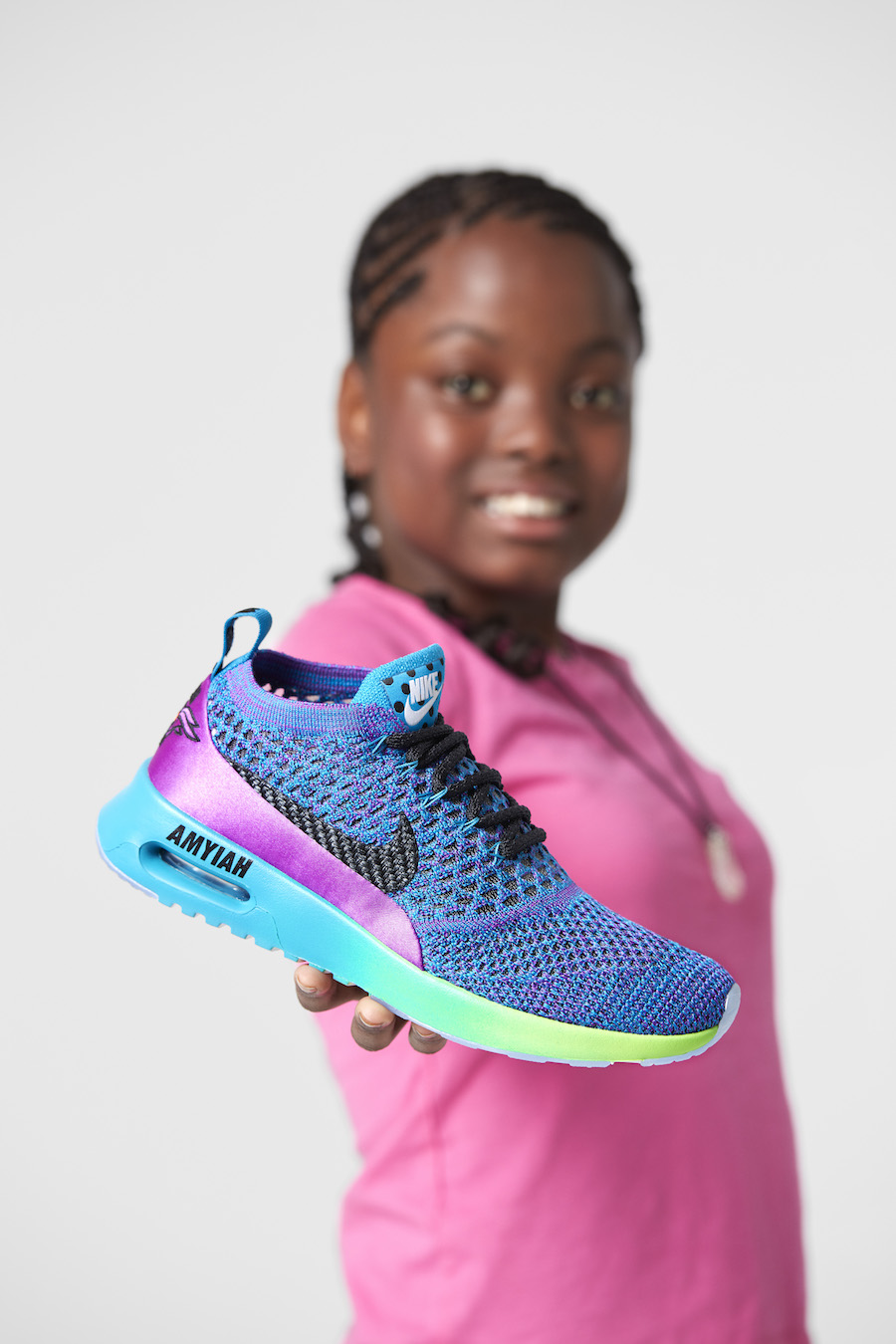 Amyiah Robinson Nike Air Max Thea Ultra Flyknit Doernbecher
