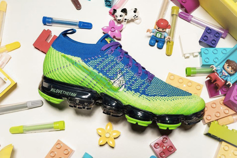 Nike Air VaporMax Doernbecher Inspired by the Seattle Seahawks
