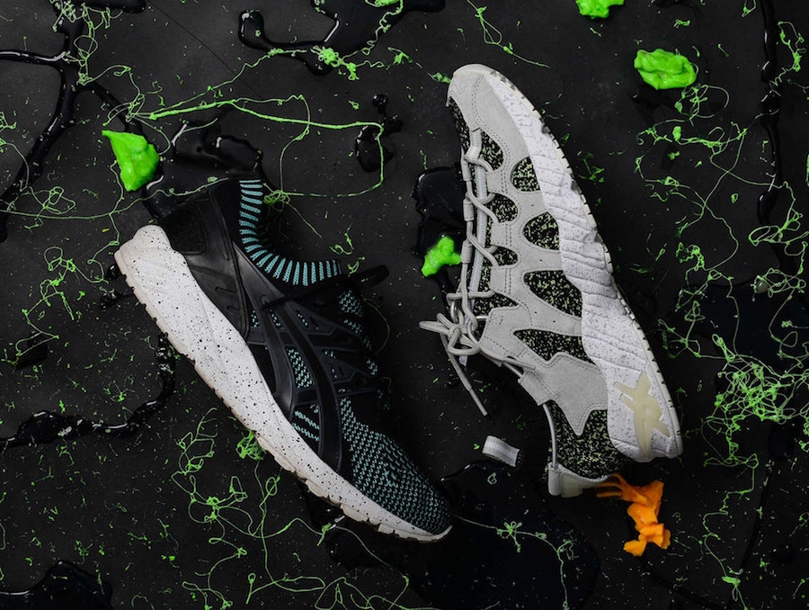 Asics Halloween Glow in the Dark Pack