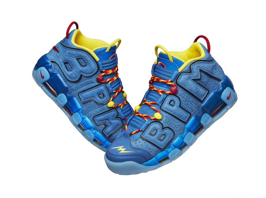 Brody Miller Nike Air More Uptempo Doernbecher