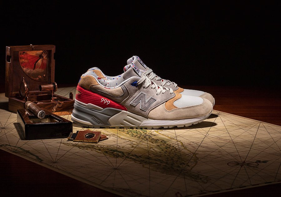 Concepts New Balance 999 Hyannis Red Alternate
