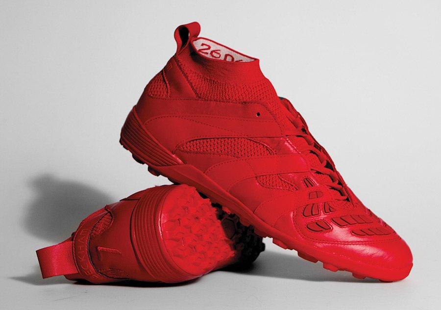 David Beckham adidas Soccer Predator Accelerator Collection