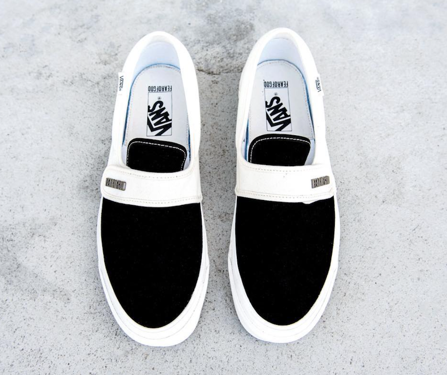 Fear of God Vans Holiday 2017 Release Date