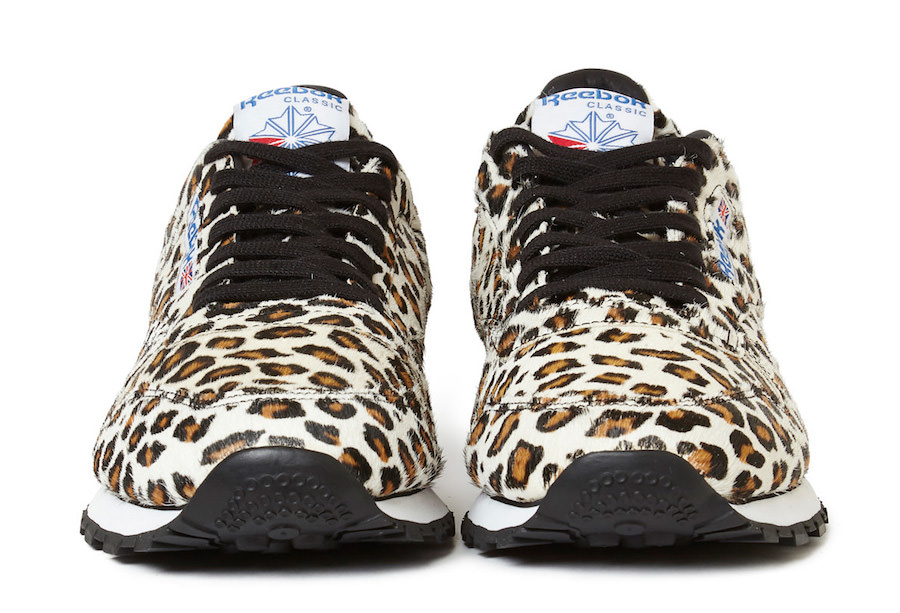 Head Porter Plus Reebok Classic Leather Leopard