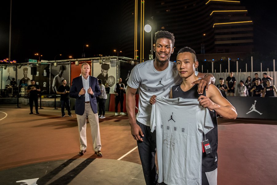 Jimmy Butler Jordan Brand China Tour