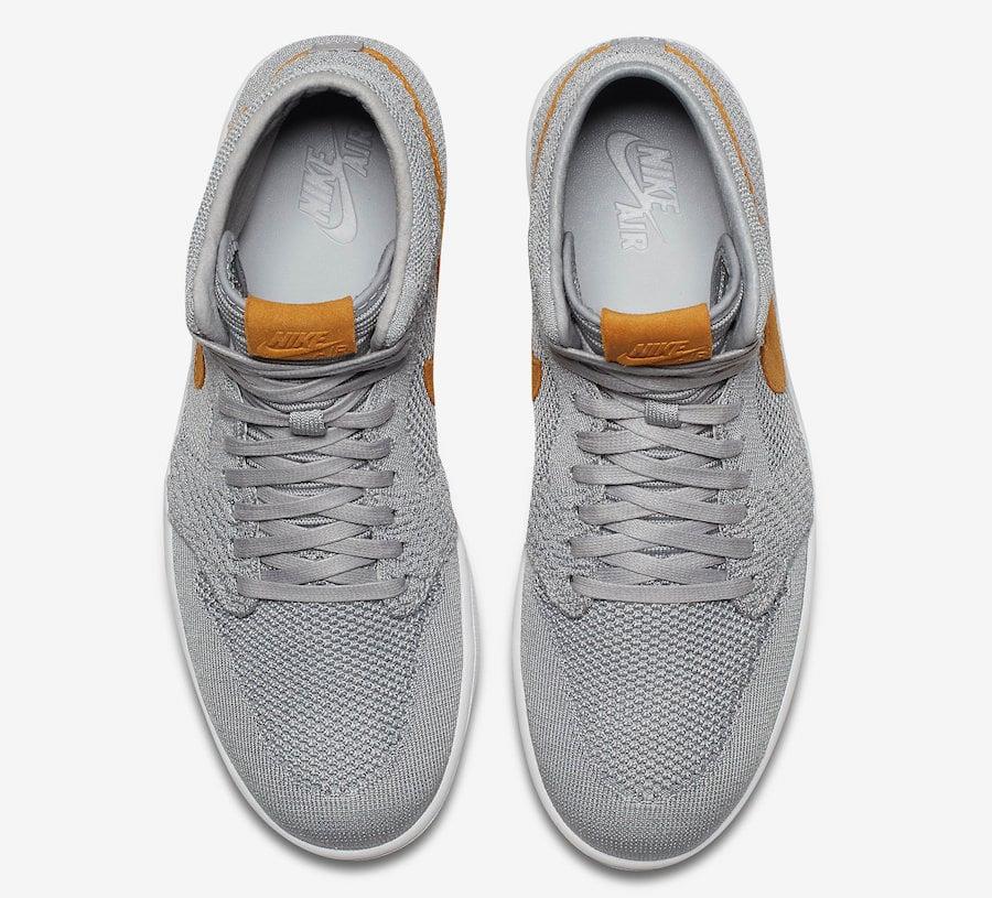 Jordan 1 Flyknit Wolf Grey 919704-025