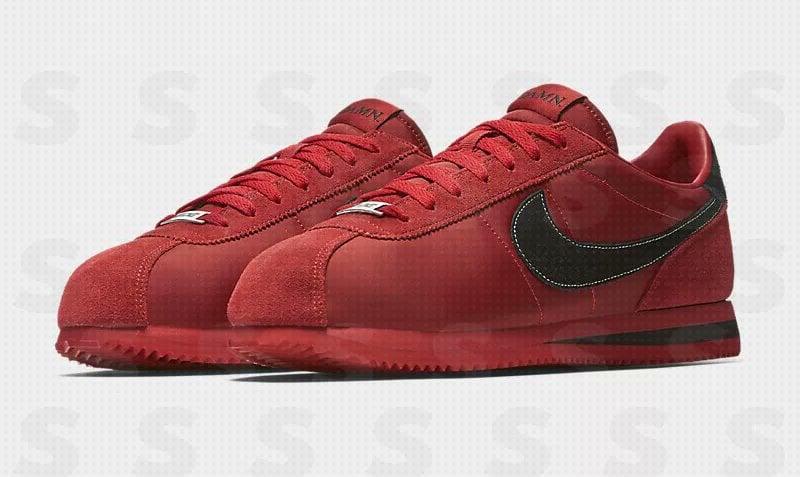 Kendrick Lamar Nike Cortez Damn Red Black