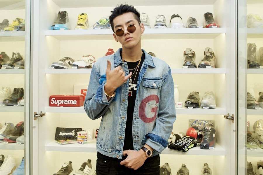 Kris Wu Sneaker Shopping