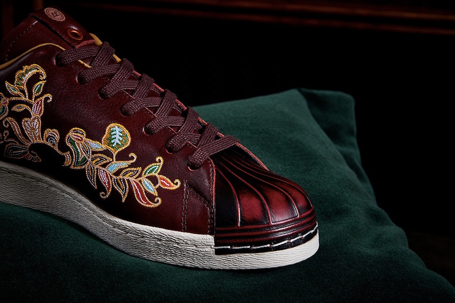 LTD Edition adidas Superstar Burnished Burgundy