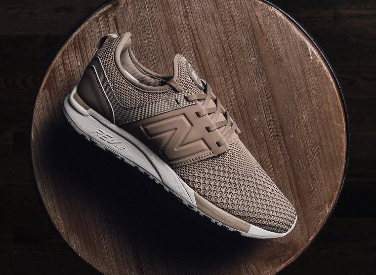 New Balance 247 Winter Knit Taupe | SneakerFiles