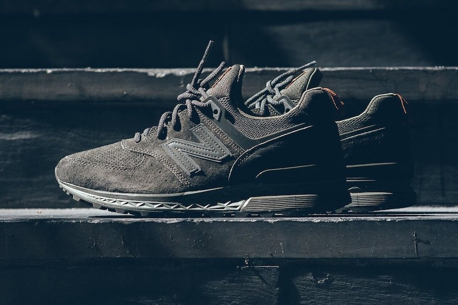 New Balance 574 Sport Olive Green