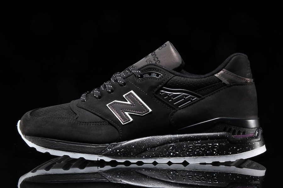 New Balance 998 Northern Lights Black