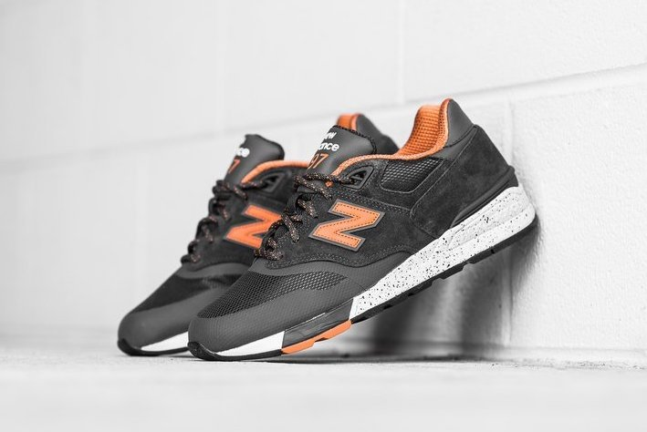 New Balance ML597SKJ Olive Orange