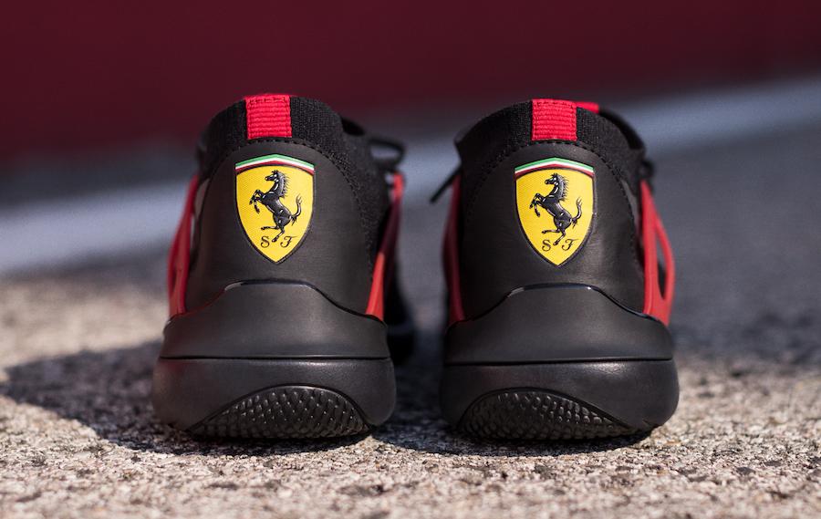 Nice Kicks Ferrari Puma Evo Cat Sock Lace