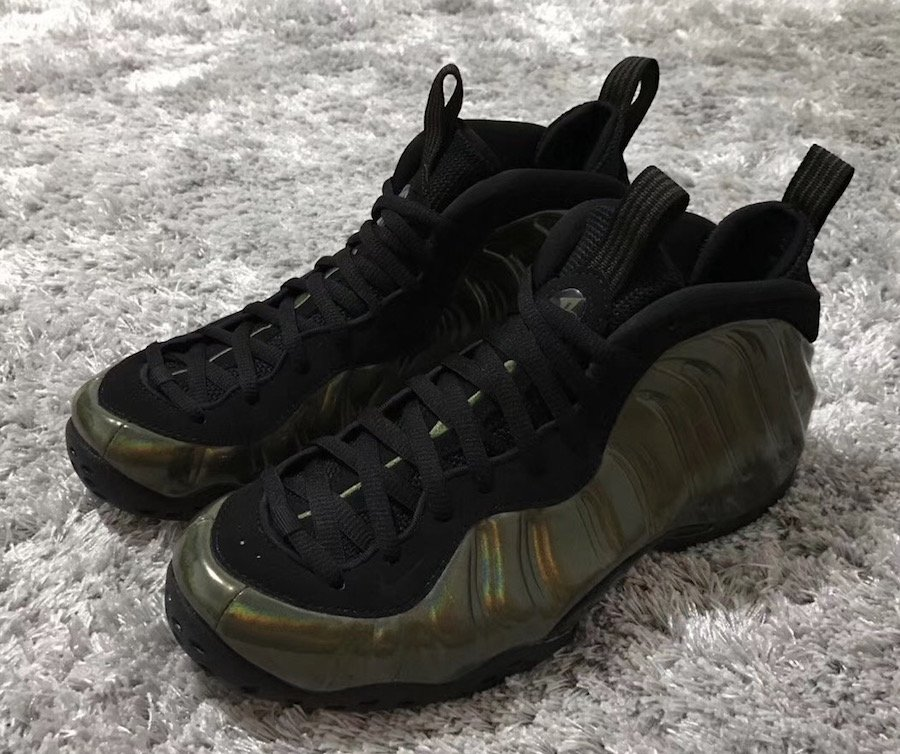 Nike Air Foamposite One Legion Green Release Date