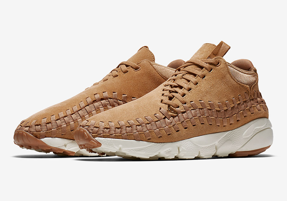 Nike Air Footscape Woven Flax 443686-205