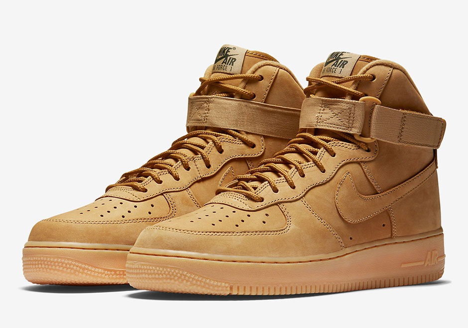 Nike Air Force 1 High Flax 882096-200