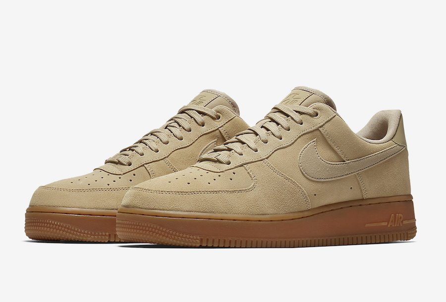 nike air force 1 khaki suede